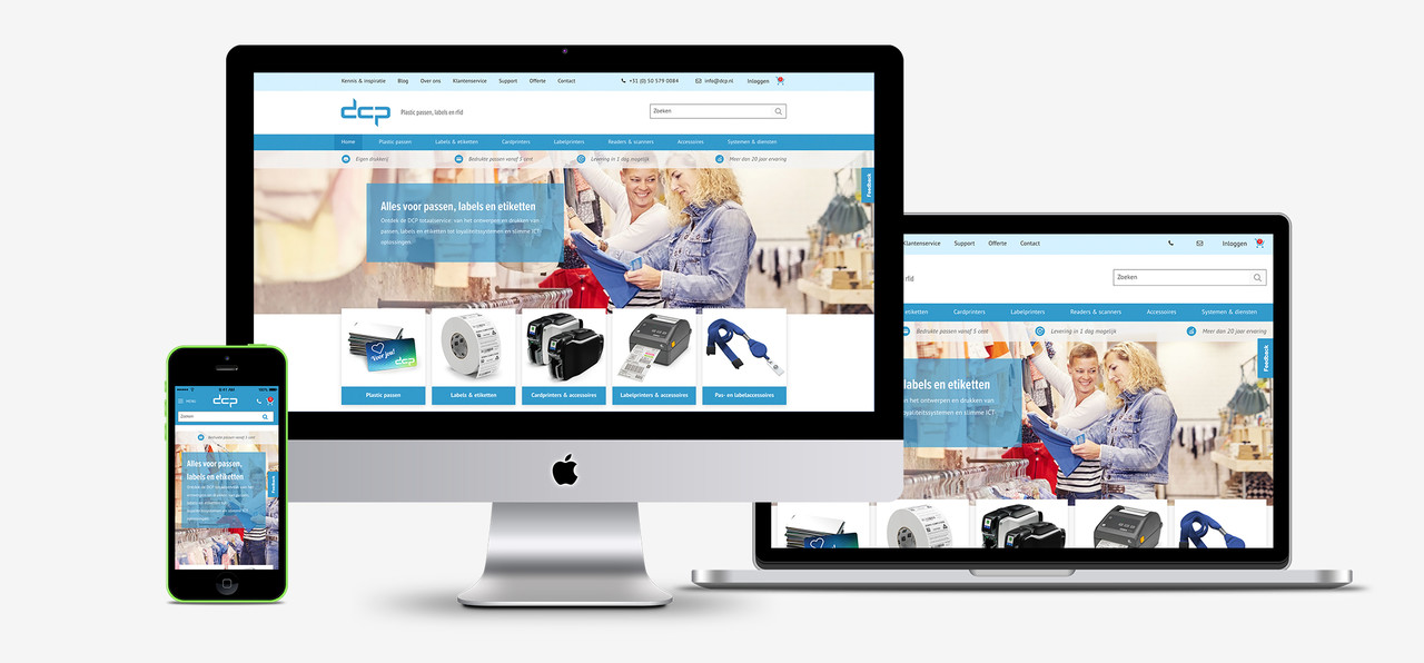 Onze nieuwe website waarin jij als klant centraal staat