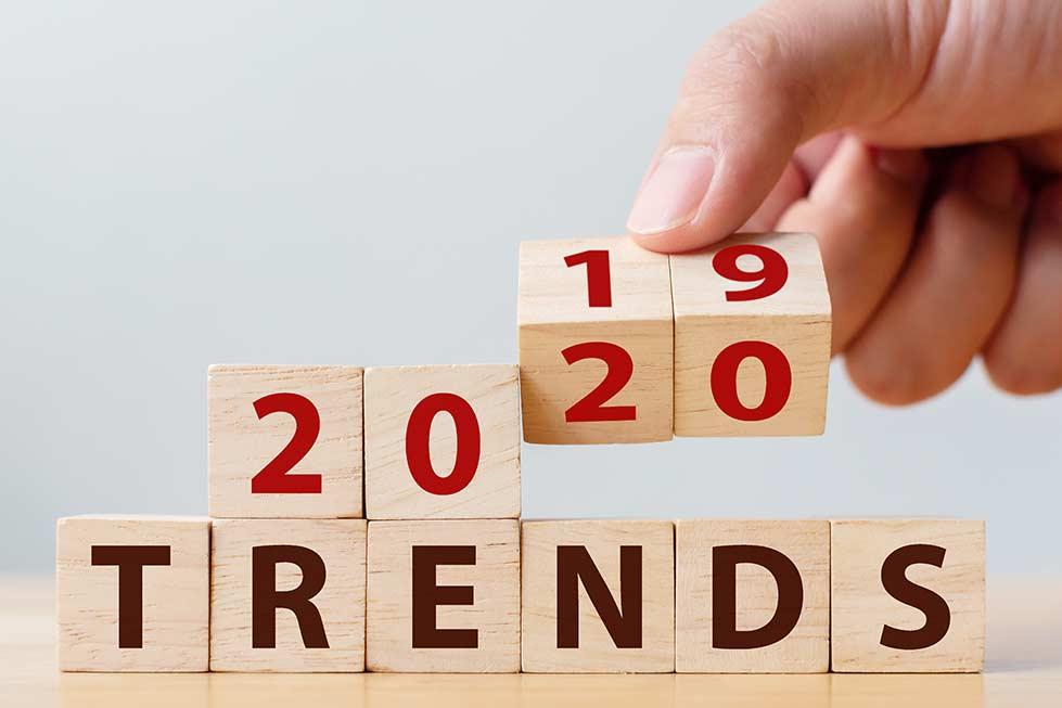 Trends in de markt voor 2020