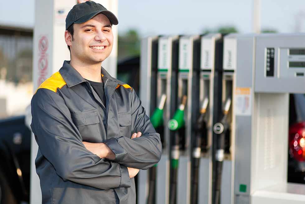 Plastic pas als veiligheidspaspoort op tankstations