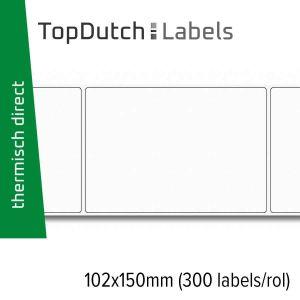 TopDutch Labels 102x150mm verzendetiketten