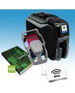 Dubbelzijdig starterspakket voor klantenkaarten met RFID