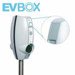 EV-Box BL laadstation krasvrije sticker (64x100 mm) Boven
