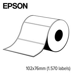 E c33s045718   epson 102x76 mm high gloss die cut label voor c75