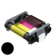 E cbgr0500k   evolis badgy zwart printlint  500 afdrukken