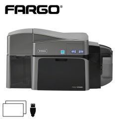 F 50100   fargo dtc 1250e cardprinter dubbelzijdig usb
