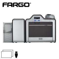 F 93640   fargo hdp 5600 retransfer cardprinter dubbelzijdig usb
