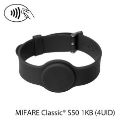 Pbg s50 002   polsband met gesp rfid nxp mifare classic s50 1kb