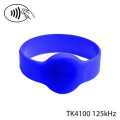 Pb 74mm 003 tk 4100   polsband rfid tk4100 125khz blauw  74mm di