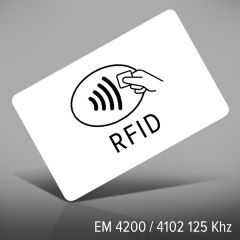 P 110   pvc 0,76 mm wit em 4200&4102 125 khz