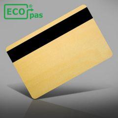 P 205   ecopas® hout 0,76 mm gelamineerd met loco magneetstrip