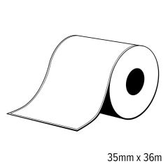 S2b 25350010   diamondlabels 35mm x 36m mat papier inkjet endles