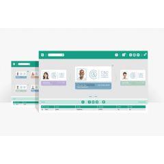 S eb p   easy badge professional id card design software. maanda