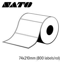 S p70021068180   sato velum standaard 74x210mm voor mid range en