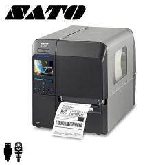 S wwcl20160eu   sato cl4nx labelprinter cutter 305dpi 4inch usb