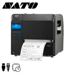 S wwcld0210eu   sato cl6nx labelprinter peel liner take up en rt