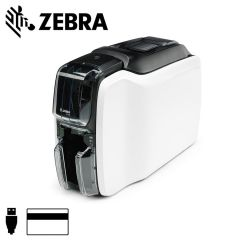 Zc11 0m00000em00   zebra zc100 cardprinter enkelzijdig magneetst