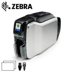 Zc32 000c000em00   zebra zc300 cardprinter dubbelzijdig usbether