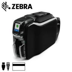 Zc35 0m0c000em00   zebra zc350 cardprinter enkelzijdig magneetst