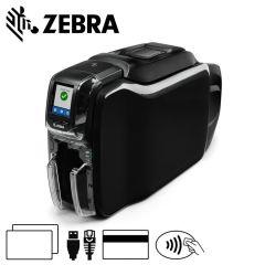 Zc36 am0c000em00   zebra zc350 cardprinter dubbelzijdig magneets