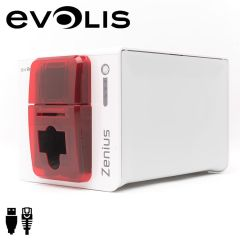 Zn1h0000rs   evolis zenius expert cardprinter enkelzijdig rood u