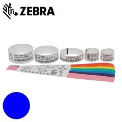 Z 10012713 3k   zebra polsband fun kleefsluiting  25x254mm  blau