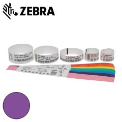 Z 10012713 7k   zebra polsband fun kleefsluiting  25x254mm  paar