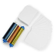 Z 105999 10l   zebra 105999 10l media kit 400 badge cards voor z