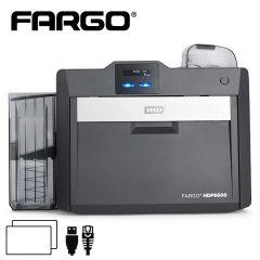 Fargo HDP6600 retransfer cardprinter dubbelzijdig USB/ethernet