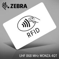Zebra 800059-412 UHF 868 MHz MONZA 4QT wit pas