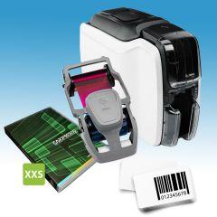 Enkelzijdig starterspakket voor klantenkaarten met barcode
