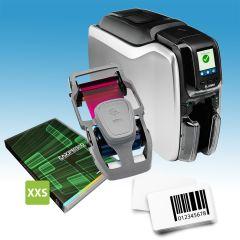 Dubbelzijdig starterspakket voor klantenkaarten met barcode