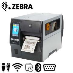 Zebra ZT411 labelprinter tear 203 dpi USB Ethernet Bluetooth met UHF reader