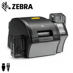Zebra ZXP Series 9 600dpi Retransfer cardprinter dubbelzijdig USB/ethernet
