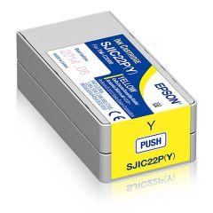 Epson TM-C3500 cartridge geel 32,5ml (C33S020604)
