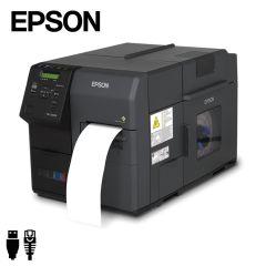 Epson Colorworks TM-C7500G industriële inkjet labelprinter USB/ethernet (C31CD84312) - zij aanzicht