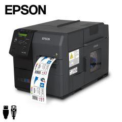 Epson Colorworks TM-C7500 industriële inkjet labelprinter USB/ethernet (C31CD84012) - met voorbeeld kleurenetiket