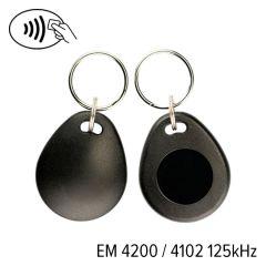 Kf 03 002 em 4200   keyfob kf 03 em 4200 4102 125 khz zwart