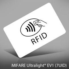 P 126   pvc nxp mifare ultralight ev1  7uid  128byte