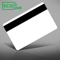 P 251 ecopas® papier met hico magneetstrip 0,76 mm wit