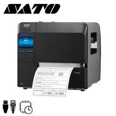 S wwcle0210eu   sato cl6nx labelprinter peel liner take up en rt