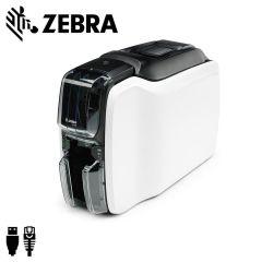 Zc11 000c000em00   zebra zc100 cardprinter enkelzijdig usbethern