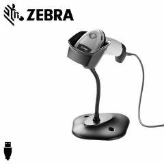 Zebra ds2208   scanner usb 1d2d zwart  papier smartphone