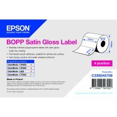 E c33s045709   epson 102x152 mm bopp satin gloss die cut labels