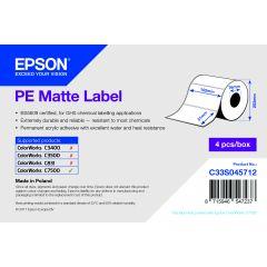 E c33s045712   epson 102x51 mm pe matte die cut labels voor c750