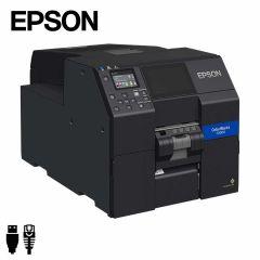 Epson Colorworks CW-C6000Pe industriële inkjet labelprinter USB/ethernet met peeler (C31CH76202) - zij aanzicht