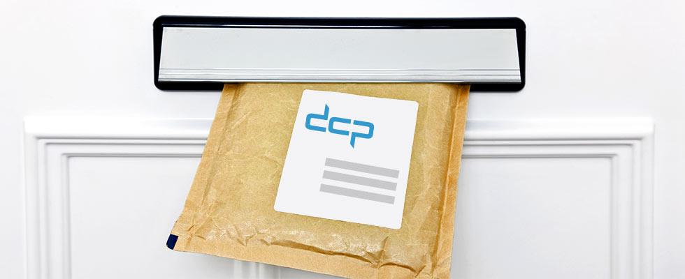 mailpack in de brievenbus