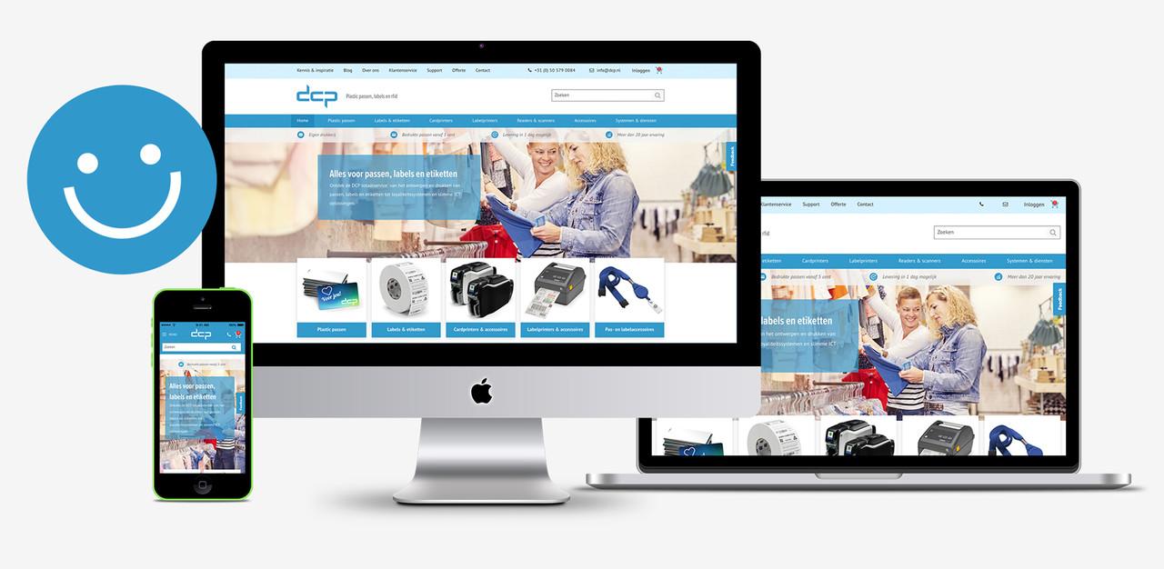 nieuwe website DCP