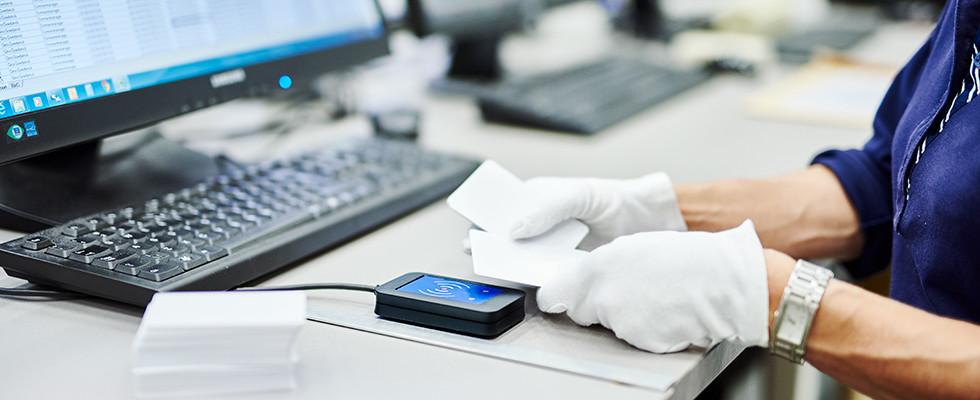 DCP programmeer RFID-chips