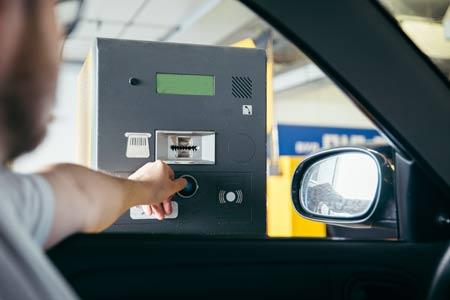 RFID toepassing parkeergarage