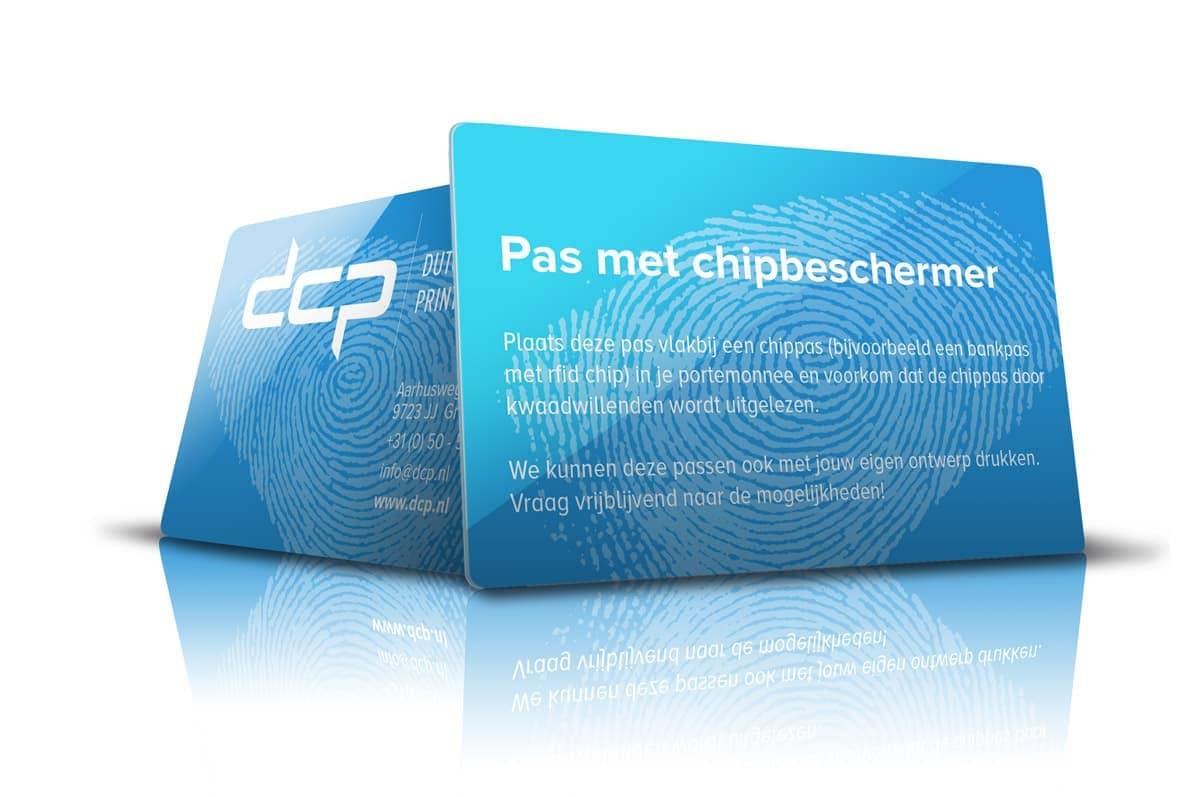 Plastic pas met chipbeschermer